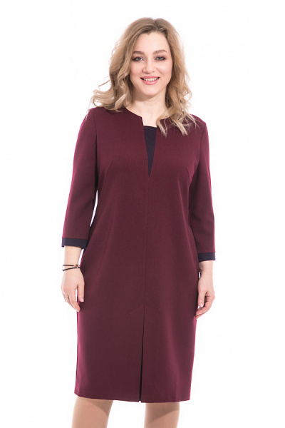 Платье больших размеров, П-493/6