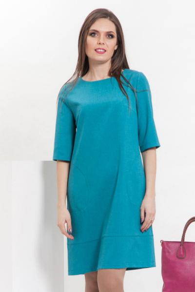 Платье А-образного силуэта, П-511